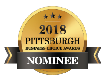 Nominee at The 2018 Pittsburgh Business Choice Awards!